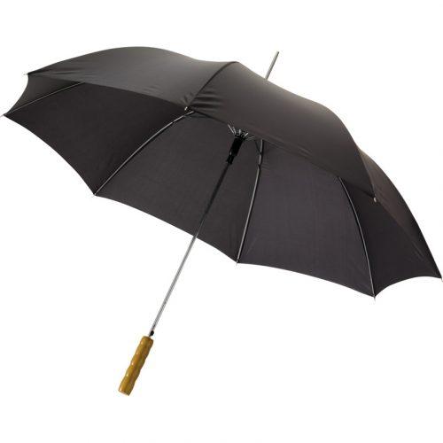 """Paraguas automático con puño de madera de 23"""" """"Lisa"""""""