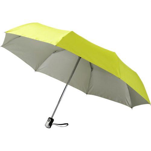 """Paraguas plegable apertura y cierre automático de 21,5 """"Alex"""""""
