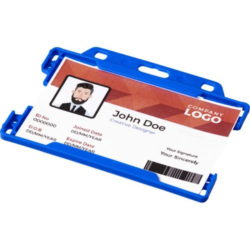 """Porta credenciales plástico """"Vega"""""""