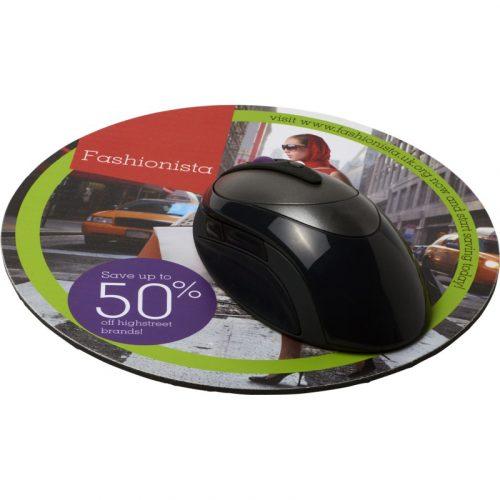 Q-Mat® Alfombrilla para ratón redonda